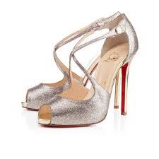 christian louboutin bianca spikes 140 mm platform red bottom heels