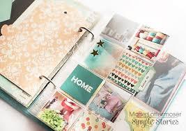 6x8 Album 61 Best Simple Stories 6x8 Albums Images On Pinterest Pocket