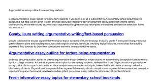 argumentative essay outline for elementary students pdf docdroid