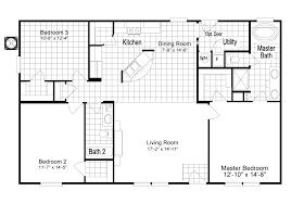 the magnum home 76 ml34764m ml30764m manufactured home floor plan