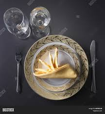 Proper Table Setting by Table Setting For Fine Dining Or Party Cutlery And Plate Set Up