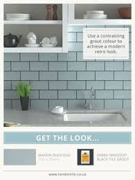 Duck Egg Blue Bathroom Tiles Duck Egg Blue Kitchen Wall Tiles Mini Metro Duck Egg Gloss Wall