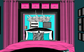 room cool bright pink room home design image contemporary at