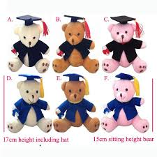 personalized graduation teddy 2018 new 17cm6 7 lovely graduation teddy plush joint doctor