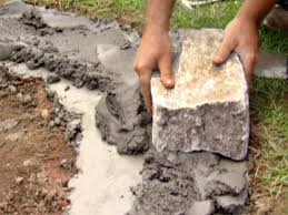 step how to build a stone fire pit tos diy u2013 modern garden