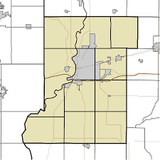 Zip Code Map Indiana by Lewis Indiana Wikipedia