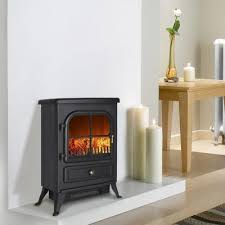 Electric Fireplace Stove Electric Fireplace Uk Finether 1800w Freestanding Portable