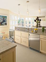 Maple Kitchen Cabinets by Solid Maple Kitchen Cabinets Stained To A Clear Coat Custom