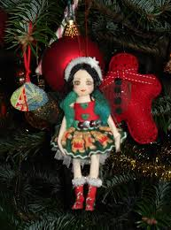 victoria stitch christmas tree fairies