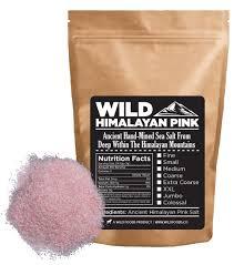 what size himalayan salt l amazon com wild himalayan pink salt 100 natural and healthy
