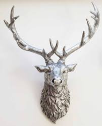 deer head silver deer head