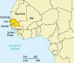 africa map senegal senegal africa map