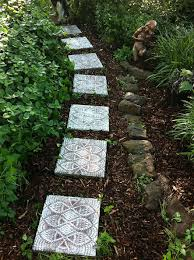Walkway Ideas For Backyard by 10 Diy Garden Path Ideas How To Make A Garden Walkway