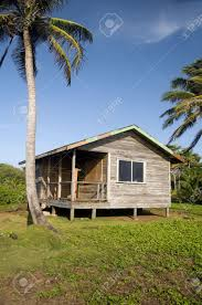 Cabana House by Basic Simple Beach House Cabana In Jungle Coconut Trees Big