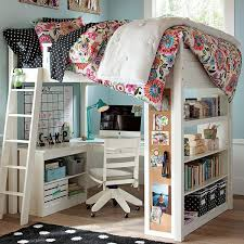 chambre ado fille avec lit mezzanine best chambre loft ado ideas design trends 2017 shopmakers us