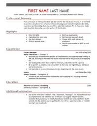 maintenance resume template free http topresume info