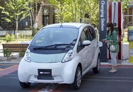 mitsubishi electric car mitsubishi electric vehicle sales down 20 in japan inside evs