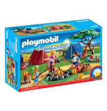 Amazon Playmobil Esszimmer Playmobil Summer Fun Zeltlager Mit Led Lagerfeuer 6888 Galeria