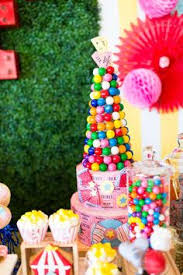 Circus Candy Buffet Ideas by Circus Carnival Birthday Candy Buffet Circus Carnival Birthday