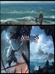 Assassins Black Flag Assassin U0027s Creed 4 Black Flag By Chaoyuanxu On Deviantart