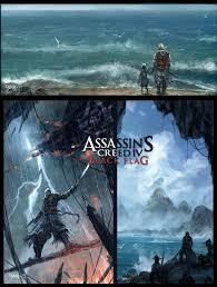 Blue And Black Flag Assassin U0027s Creed 4 Black Flag By Chaoyuanxu On Deviantart