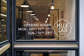 new logo and brand identity for milk lab by studio fnt bp u0026o