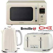 Kettle Toaster Offers Cream Breville Impressions Kettle And Toaster Set Daewoo Retro
