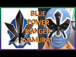 Power Rangers Samurai Halloween Costumes Halloween Edition 2014 Diy Blue Samurai Power Ranger