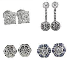 invisible earrings your guide to invisible setting diamond earrings