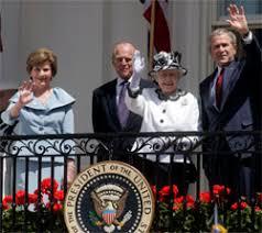 Queen Elizabeth Ii House Photos President Bush Welcomes Queen Elizabeth Ii To The White House