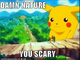 Damn Nature You Scary Meme - image 456041 damn nature you scary know your meme