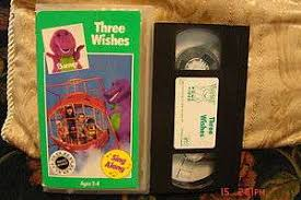 Barney Three Wishes Video On by Alfa Img Showing U003e Barney Three Wishes Vhs Ebay