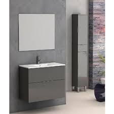 28 Bathroom Vanity With Sink Eviva Geminis 28 Inch Grey Modern Bathroom Vanity With White