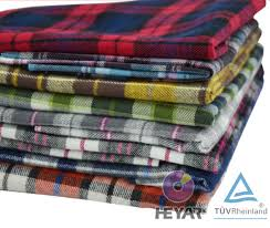 blue combo tencel cotton check shirt cotton flannel fabric buy