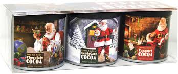 hot cocoa gift set cocoa and hot chocolate mixes santa s st nick s hot