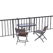 rectangular folding table 8039752 hsn