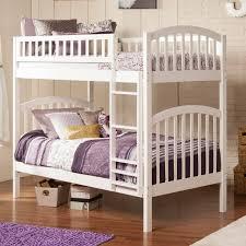 Atlantic Furniture Columbia Twin Over Twin Bunk Bed Hayneedle - Twin over twin bunk beds