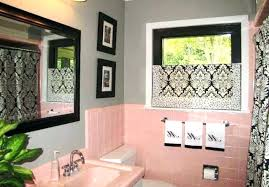 Pink And Black Bathroom Ideas Pink Bathroom Decorating Ideas Pink Bathrooms Decor Ideas Create