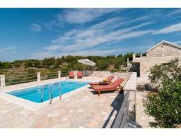 House With Pools Holiday Home Dalmatia Stone House With Pool Sumartin Croatia