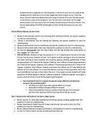 floor hockey unit plan 6 12 grade floor hockey unit plan by pe for life tpt