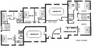 executive house plans floor plan executive office suite plans house plans 24693