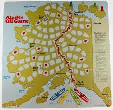 Alaska Pipeline Map by Pipeline Games Alaska Historical Society