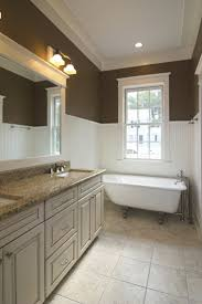 wainscoting bathroom ideas pictures glamorous wainscoting in the bathroom ideas images design