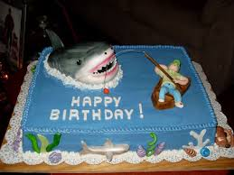 fish birthday cakes shark cakes shark birthday cake fishing throughout