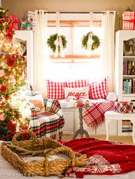 golden boys and me our red and white master bedroom at christmas