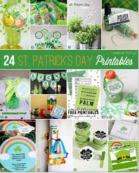 st patrick u0027s day printables you u0027ll love