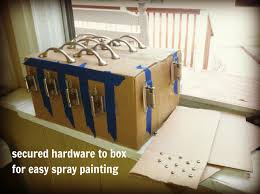 can you spray paint cabinet hardware with livelovediy how to