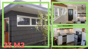 Best Tiny House Designs Best Tiny House Design 2017 Garage Converted Into 23 M Tiny
