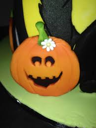 halloween themed birthday cake for a four year old cakecentral com
