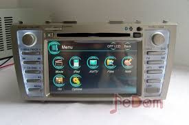 2011 toyota camry navigation system dvd player slim picture more detailed picture about hd touch